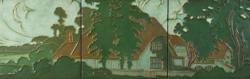 Rookwood Pottery - Outline English Landscape
