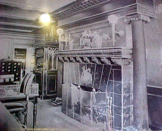 Grueby Ship Fireplace Sold At Auction