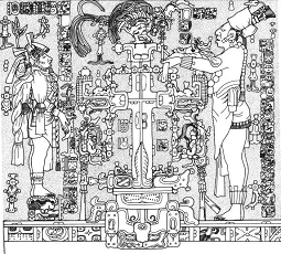 Calco Mayan Fireplace sketch