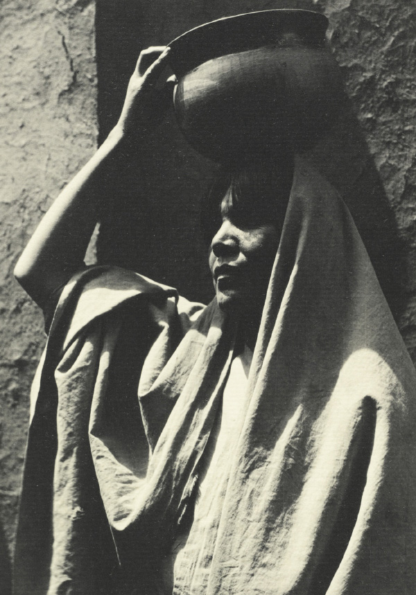 Ansel Adams' Taos Pueblo - Plate VI - Girl of Taos