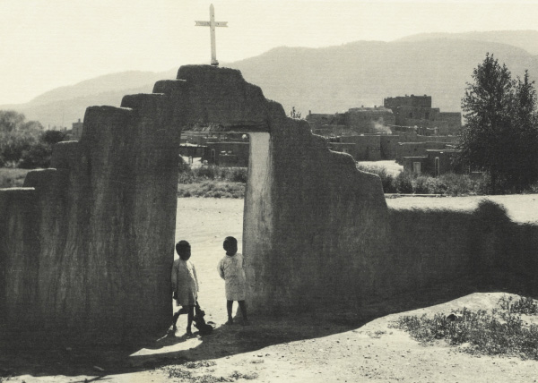 Ansel Adams' Taos Pueblo - Plate II - South House (Hlaukwima)